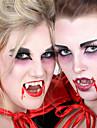 Farse Gadget Vampir Fangs Jucarii Dinte silicagel Tema ororilor 2 Bucăți Adulți Halloween Cadou