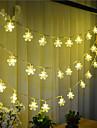 a condus-100 10m ninsoare ușoară mufă impermeabil în aer liber Crăciun vacanță lumina decorare a condus lumina șir de caractere