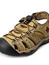 Bărbați Pantofi Piele Vară Sandale pentru Casual Maro Verde Cafeniu