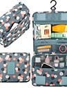 Resväska Necessär med hängkrok Resenecessär Kosmetisk påse Bagageorganisatör Vattentät Damm säker Hållbar Med bärhandtag på ovansidan