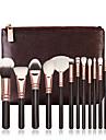 15pcs Pinceaux a maquillage Professionnel ensembles de brosses / Pinceau a Blush / Pinceau Fard a Paupieres Pinceau en Nylon / Poil