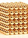 216pcs 3mm de aur și de argint diy bile magnetice sferice margele magic magnet puzzle executiv bloc de constructii 2 culoare