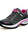 Pentru femei Pantofi PU Primăvară / Toamnă Confortabili Adidași de Atletism Toc Drept Vârf rotund Dantelă Gri / Mov / Fucsia