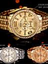 Pentru femei Ceas de Mână Simulat Diamant Ceas Quartz Stras / Aliaj Bandă Charm Sclipici Cool Argint Auriu Roz auriu