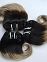 Brasilianskt hår Vågigt Hårförlängning av äkta hår 3 delar 0.15