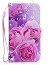 Maska Pentru Samsung Galaxy S8 Plus S8 Portofel Titluar Card Cu Stand Carcasă Spate Floare Greu PU Piele pentru S8 S8 Plus S7 edge S7 S6