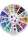 1 pcs Rhinsten Negle kunst Manicure Pedicure Daglig glitter / Mode