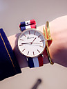 Women\'s Wrist Watch Quartz Blue / Colorful Analog Ladies Casual Fashion - Pink Dark Red White / Red One Year Battery Life / Stainless Steel / Tianqiu 377