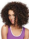 Synthetische Peruecken Afro Stil Bob Bubikopf Kappenlos Peruecke Braun Braun Synthetische Haare Damen Braun Peruecke Mittlerer Laenge Natuerliche Peruecke