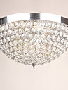 Modern Kristall designers Takmonterad Glödande Till Vardagsrum Sovrum Matsalsrum Studierum/Kontor Korridor Varmt vit 110-120V 220-240V