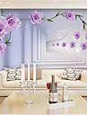Art Deco / #D Imagine de Fundal Pentru acasă Contemporan Placare a peretilor , Canava Material adeziv necesar mural , Tapetul camerei