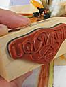3 Stiluri DIY Vă mulțumim PatternWood alfabet Stamp