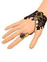 Bijuterii Clasic/Traditional Lolita Brățară/Brățară rigidă Inspirație Vintage Prințesă Negru Lolita Accesorii Brățară/Brățară rigidă Nod