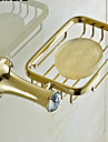 Vesela și săpun Titularii Calitate superioară Contemporan Alamă Cristal 1 piesă - Hotel baie