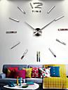 vägg klocka kvarts klocka stora dekorativa klockor europa akryl klistermärken vardagsrum