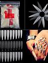 500 Nail Art Decoration Strass Pearls makeup Kosmetisk Nail Art Design