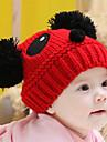 Fete Băieți Căciuli & Băști - Iarnă Îmbrăcăminte tricotată Alb Rosu Kaki