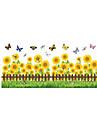 Animale Modă Florale Perete Postituri Autocolante perete plane Autocolante de Perete Decorative, Vinil Pagina de decorare de perete Decal