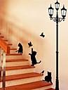 Animale Perete Postituri Autocolante perete plane Autocolante de Perete Decorative,Hârtie Material Detașabil Pagina de decorarede perete