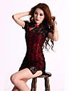 Feminin Ultra Sexy / Uniforme & Cheongsams / Costume Pijamale Dantelă Multi-color