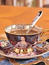 Cești / Sticle de Apă / Căni de Cafea / Ceaiuri & Răcoritoare 1 PC Ceramică, -  Calitate superioară