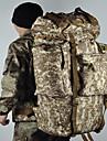 100 L Zainetti Bagagem Viagem Duffel Multifuncional Ao ar livre Acampar e Caminhar Esportes Relaxantes Viajar Nailon Tactel Cafe camuflagem verde camuflagem Brown