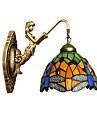 E27 220v 3-5㎡ european contractat rural creator de fier perete de sticlă lampă forjat lumini led