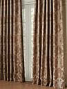 Deux Panneaux Le traitement de fenetre Europeen Neoclassique Polyester Materiel Rideaux Tentures Decoration d\'interieur For Fenetre