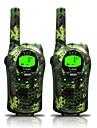 armată pentru copii walkie talkie 22 canale și (până la 5 km în zone deschise) armygreen walkie talkie pentru copii (1 pereche) t668