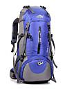 50L ryggsäck Cykling Ryggsäck Backpacker-ryggsäckar Camping Klättring Fritid Sport Cykling / Cykel Vattentät Andningsfunktion Stötsäker