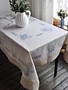 Dreptunghiular Floral Fețe de masă , In MaterialHotelul masă Nunta decorare Party Cina conferință de nunta Crăciun Decor Favor Tabelul