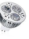 1st 9W 600-700lm MR16 LED-spotlights 3 LED-pärlor Högeffekts-LED Dekorativ Varmvit Kallvit 12V