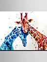 Animal Modern,Un Panou Canava Vertical print Arta Decor de perete For Pagina de decorare
