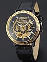 Bărbați Ceas Sport Ceas Elegant Ceas Schelet Ceas La Modă Ceas de Mână ceas mecanic Mecanism automat Piele Autentică Bandă Charm Casual