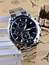Bărbați Ceas La Modă Ceas Elegant  Quartz Oțel inoxidabil Bandă Charm Casual Argint