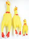 Tandrengöringsleksak Pipande leksaker gnissla Höna och kyckling Kyckling Gummi Till Katt Hund