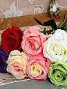 1 ramură Poliester Trandafiri Față de masă flori Flori artificiale