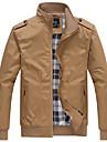 Bărbați Stand Jachetă Activ - Mată / Manșon Lung