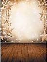 1.5 x stele fulg de nea fotografie de stofa 2.1m vinil Crăciun fundal fantezie