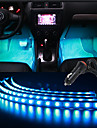 30cmx4 rgb de control auto benzi flexibile de muzică atmosfera interioară de lumină de lumină pentru picioare