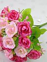 Kunstbloemen 1 Tak Moderne Style Rozen Bloemen voor op tafel