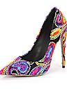 Damă Tocuri Primăvară Vară Toamnă Iarnă Pantofi de flori Fata Pantofi Club Materiale Personalizate Nuntă Rochie Party & Seară Toc Stiletto