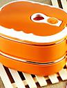 Rostfritt Stål Hög kvalitet Lunchlådor Kvadrat Kök Organisation