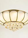 Montaj Flush Lumină Spot - Cristal, LED, 110-120V / 220-240V Sursa de lumină LED inclusă / 15-20㎡ / LED Integrat