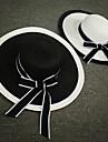 Împletitură Stil Coș Diadema-Nuntă Ocazie specială Informal Exterior Pălării/Căciuli 1 Bucată