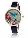 Pentru femei Quartz Ceas de Mână Cool / Ceas Casual PU Bandă Floare / Casual / Modă Negru / Alb / Albastru / Roșu / Maro / Verde / Pink