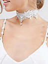 Pentru femei Floare Formă Personalizat Design Unic De Bază Coliere Choker Y-Coliere Bijuterii Dantelă Coliere Choker Y-Coliere Nuntă