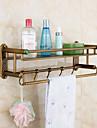 Bathroom Shelf Neoclassical Brass 1 pc - Hotel bath