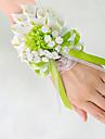 Flori de Nuntă Formă liberă Crini Bujori Corsaj de mână Nuntă Petrecere / Seară Satin
