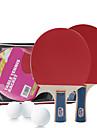 Ping Pang/Table Tennis Rackets Ping Pang/Table Tennis Ball Ping Pang Cork Long Handle Pimples 1 Table Tennis Bag 2 Rackets 3 Table Tennis